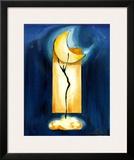 Moon Dance Print by Alfred Gockel