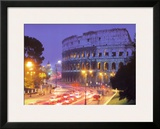 The Colosseum - Rome Print by Andy Williams
