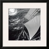 Pride of Baltimore Bow Look Down Framed Giclee Print by Michael Kahn