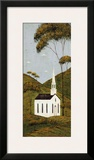 Country Panel I, Church Prints by Warren Kimble