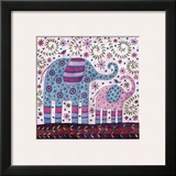 Elephant Walk Prints by Kim Conway