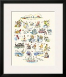 ABC of The Seaside Pôsters por Claire Fletcher