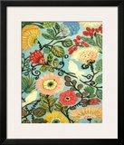 Sweet Cottage Garden Prints by Laurie Fields