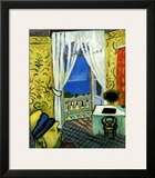 Still Life with Violin Case Framed Giclee Print by Henri Matisse