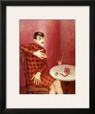 Sylvia Von Harden Framed Giclee Print by Otto Dix