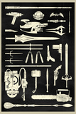 Tools of the Trade - Hero Weapons Plastic Sign Wall Sign