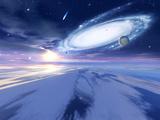Alien Night Sky Print by Detlev Van Ravenswaay