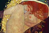 Gustav Klimt (Danae) Plastic Sign Plastic Sign by Gustav Klimt