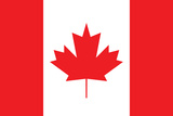 Canada Flag Plastic Sign Wall Sign