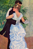 Pierre-Auguste Renoir (Dance in the City) Plastic Sign Plastic Sign by Pierre-Auguste Renoir