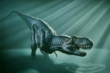 Tyrannosaurus Rex Photographic Print by Joe Tucciarone
