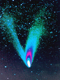 Comet Hale-Bopp Photographic Print by Detlev Van Ravenswaay