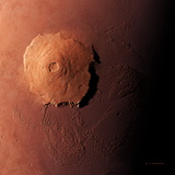 Olympus Mons, Morning View Photographic Print by Detlev Van Ravenswaay