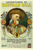 The Adventures of Buffalo Bill Movie Plastic Sign Wall Sign