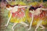 Edgar Degas Ballet Dancers Plastic Sign Plastikskilte af Edgar Degas