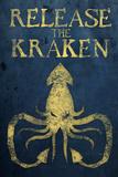 Release The Kraken Plastic Sign Znaki plastikowe