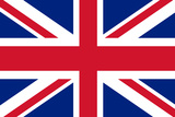 United Kingdom National Union Jack Flag Plastic Sign Plastikskilt