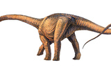 Argentinosaurus Dinosaur Poster by Joe Tucciarone