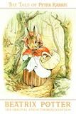 Beatrix Potter The Tale Of Peter Rabbit Plastic Sign Znaki plastikowe autor Beatrix Potter