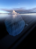 Iceberg, Artwork Premium Photographic Print by Detlev Van Ravenswaay