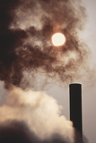 Industrial Air Pollution Photographic Print by Jeremy Walker