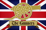 Arsenal Football Club The Gunners Sports Plastic Sign Signe en plastique rigide
