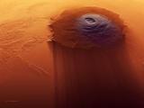Olympus Mons, Mars Photographic Print by Detlev Van Ravenswaay