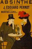 Absinthe Liquor Vintage Ad Plastic Sign - Plastik Tabelalar