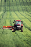 Tractor Cutting Grass for Silage Posters by Jeremy Walker