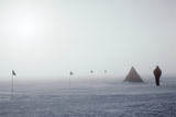 Antarctic Field Camp Photographic Print by David Vaughan