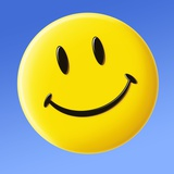 Smiley Face Symbol Premium Photographic Print by Detlev Van Ravenswaay