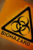 Biohazard Symbol Posters by Tim Vernon