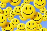 Smiley Face Symbols Print by Detlev Van Ravenswaay