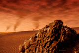 Martian Dust Devils Photographic Print by Detlev Van Ravenswaay