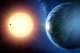 Extrasolar Planet Gliese 581c, Artwork Prints by Detlev Van Ravenswaay
