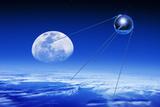 Sputnik 1 Satellite, Composite Image Photographic Print by Detlev Van Ravenswaay