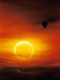 Annular Solar Eclipse Premium Photographic Print by Detlev Van Ravenswaay