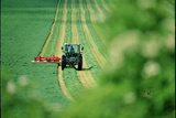 Tractor Cutting Grass Prints by Jeremy Walker