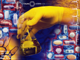 Drug Manufacture Photographic Print by Tim Vernon