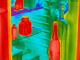 Fridge Thermogram Photographic Print by Dr. Arthur Tucker