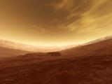 Martian Crater, Artwork Photographic Print by Detlev Van Ravenswaay