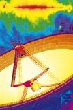 Effelsberg Radio Telescope Print by Detlev Van Ravenswaay