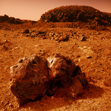 Martian Landscape Photographic Print by Detlev Van Ravenswaay