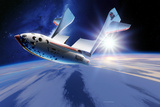 SpaceShipOne Re-entry Prints by Detlev Van Ravenswaay