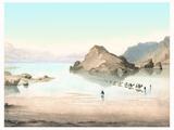 Desert Mirage, 1854 Artwork Fotografisk tryk af Detlev Van Ravenswaay