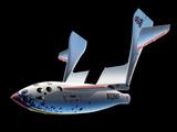 SpaceShipOne Re-entry Photographic Print by Detlev Van Ravenswaay