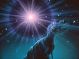 Supernova Dinosaur Extinction Photographic Print by Joe Tucciarone