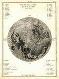 Early Map of the Moon, 1772 Photographic Print by Detlev Van Ravenswaay