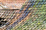 Old Tiled Roof Photographic Print by Dr. Keith Wheeler