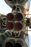 Soyuz Soviet Rocket Poster by Detlev Van Ravenswaay
